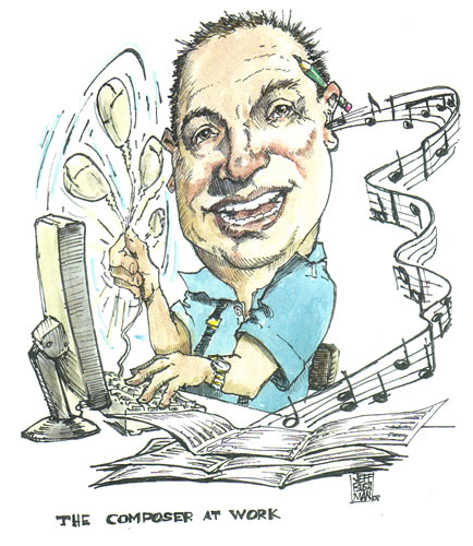 David Sargent - caricature